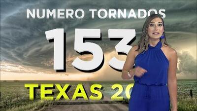 Texas reporta 153 tornados en lo que va de año