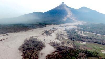 En fotos: La destrucción que dejó la erupción del volcán de Fuego en Guatemala