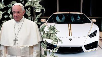 Milagro: El Lamborghini del Papa Francisco cuadriplica su valor en subasta