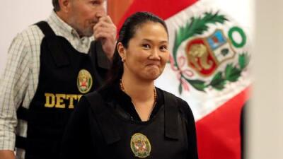 Un juez ordena liberar a la líder opositora peruana Keiko Fujimori