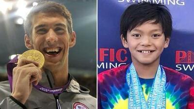 Un pequeño 'Superman' aplastó récord de Michael Phelps