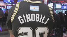 Fanáticos argentinos llegan a San Antonio para homenajear a Manu Ginóbili
