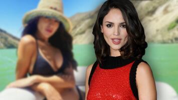 """Eiza González alborota a sus fans con una foto en bikini y una indirecta: """"Y tu mamá también"""""""