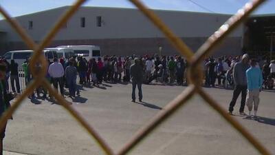 Albergue para migrantes de la caravana en Piedras Negras poco a poco va quedando vacío y cerrará próximamente