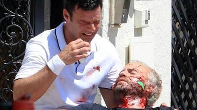 """Esta imagen de Ricky Martin llorando es """"ridícula"""" para el exnovio de Versace y te contamos por qué"""