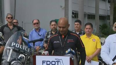 Realizan una jornada educativa en Key Biscayne para concientizar a los conductores violentos