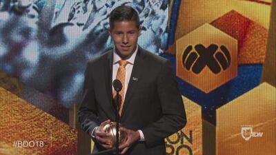 Hugo Ayala: ganador del Balón de Oro al Mejor Defensa