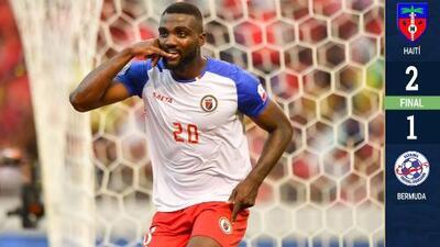 Haití 2-1 Bermudas - GOLES Y RESUMEN - GRUPO B - Copa Oro