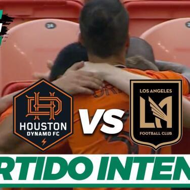 Houston Dynamo le sacó el empate a LAFC sin Carlos Vela