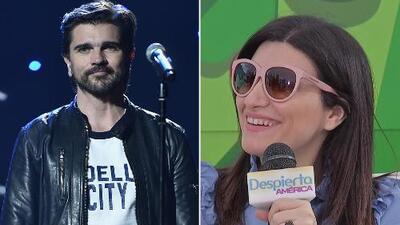 Juanes tiene una pregunta muy especial para Laura Pausini