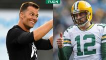¡Trolleo épico de Tom Brady a Aaron Rodgers en redes sociales!