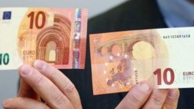 El nuevo billete de 10 euros entra en circulación
