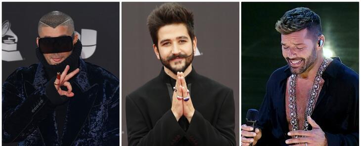 Bad Bunny, Ricky Martin, Kany García y Camilo, entre los latinos nominados al GRAMMY