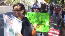 'Arizona en un Minuto': organizaciones proinmigrantes adelantan manifestaciones en contra de Trump por todo el país