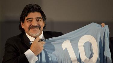 Villas-Boas pide a FIFA retirar el 10 de Maradona en todo el mundo
