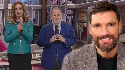 """El Gordo llegó """"muy alborotado"""" de TeletónUSA y le agradeció Julián Gil por su ayuda"""