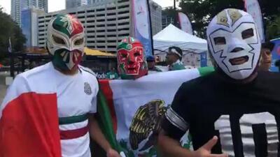 Mexicanos listos para el encuentro de su selección contra la de Martinica