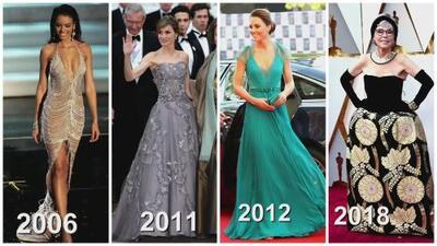 Reciclar vestidos es una opción para estas famosas: Kate Middleton y Zuleyka Rivera están en la lista