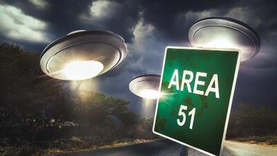 Graban el Área 51 como nunca lo habían hecho
