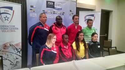La selección femenina de Voleibol de Puerto Rico confía en pase histórico ir a las Olimpiadas