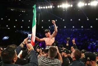 En fotos: Canelo Álvarez le quita el invicto y los títulos mundiales a Gennady Golovkin