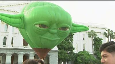 Proclaman 4 de mayo como el Día de Star Wars en el capitolio estatal