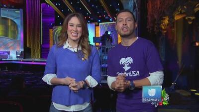 Jackie Bracamontes se estrena como conductora del Teletón USA