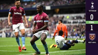 'Chicharito' vuelve a quedarse en la banca, ahora en el triunfo del West Ham ante el Tottenham