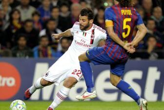 El Barcelona-Milan en imágenes