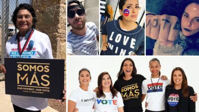 EN FOTOS: Famosos impulsan el voto latino en estas elecciones ✔️