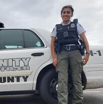 La policía latina que espera convertirse en agente de ICE