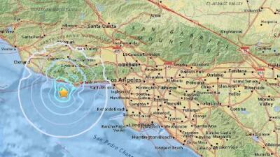 Dos temblores estremecen el estado de California