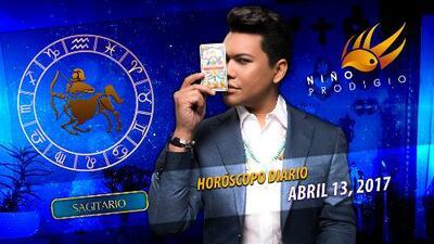 Niño Prodigio - Sagitario 13 de abril 2017