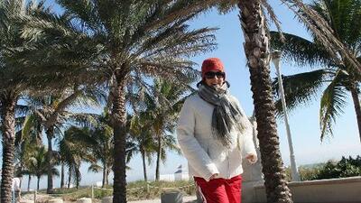 La llegada de un frente frío al sur de Florida provocará un descenso notable en las temperaturas