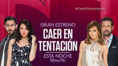 ¿Cómo es Caer en Tentación? Gabriel Soto habla sobre la nueva novela de Univision
