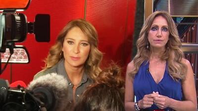 Lili Estefan admira cómo Geraldine Bazán se comportó con la prensa al tiempo que estaba con sus hijas