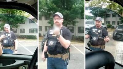 Agente de ICE insulta y se burla de hispanos durante polémico incidente en Atlanta