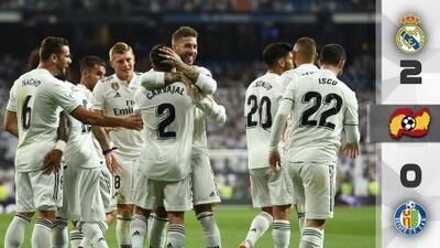 Real Madrid gana en debut ante Getafe y demuestra que no necesita a Cristiano