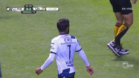 Tiro desviado de Pablo González