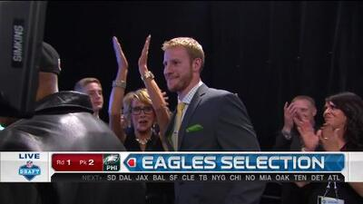 Pick 2 (Philadelphia Eagles): Carson Wentz, QB, North Dakota State