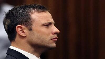 Oscar Pistorius imperturbable tras el veredicto de su crimen