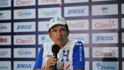 Jorge Luis Pinto deja la dirección técnica de Honduras