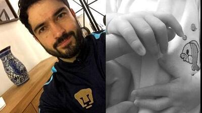 SYP Al Instante: Poncho Herrera ya es papá y comparte la primera foto junto a su bebé