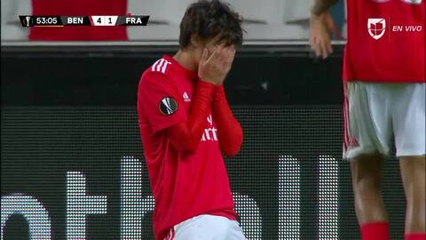 ¡GOOOL! João Félix anota para Benfica
