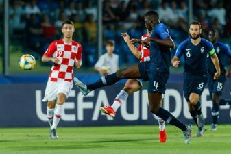En fotos: Francia se impone a Croacia en un luchado encuentro por la Euro Sub-21