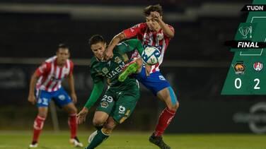 El Atlético de San Luis se acerca a la clasificación tras vecer a Potros UAEM