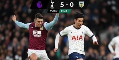 Tottenham luce con Son y Liverpool se enfila al título