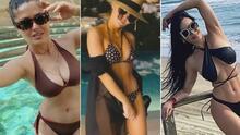 Analizamos la moda de las famosas que comenzaron en bikini (y las que no) el 2021
