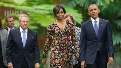 Michelle Obama en Cuba, imágenes que no se repetirán