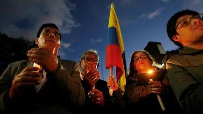 Convocan una movilización nacional para rechazar atentado con carro bomba en una escuela de policía de Bogotá